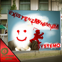 SYSTEMO Existenzminimum / 5 Jahre Frontcover